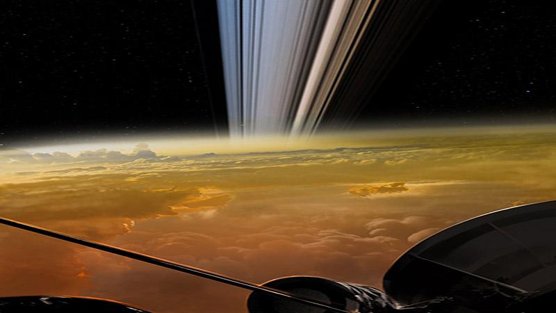 Αυτές είναι μερικές από τις πιο κοντινές εικόνες του Κρόνου που κατέγραψε ποτέ το Cassini, και είναι απίστευτές