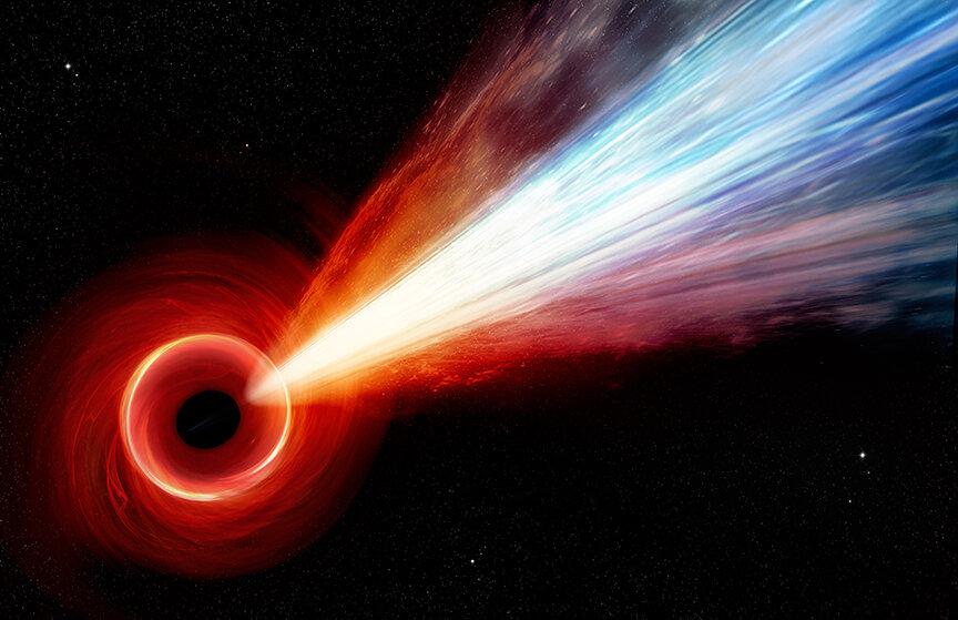 Διάσημη μαύρη τρύπα έχει πίδακα σωματιδίων που προσεγγίζει το κοσμικό όριο ταχύτητας