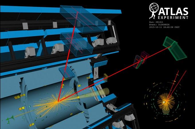 Το πείραμα ATLAS αναφέρει συγκρούσεις φωτονίων που παράγουν τους φορείς της ασθενούς δύναμης W