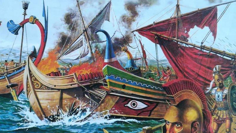 Οι αρχαίοι Έλληνες εκμεταλλεύθηκαν τις κλιματολογικές συνθήκες για να νικήσουν τους Πέρσες στη Σαλαμίνα