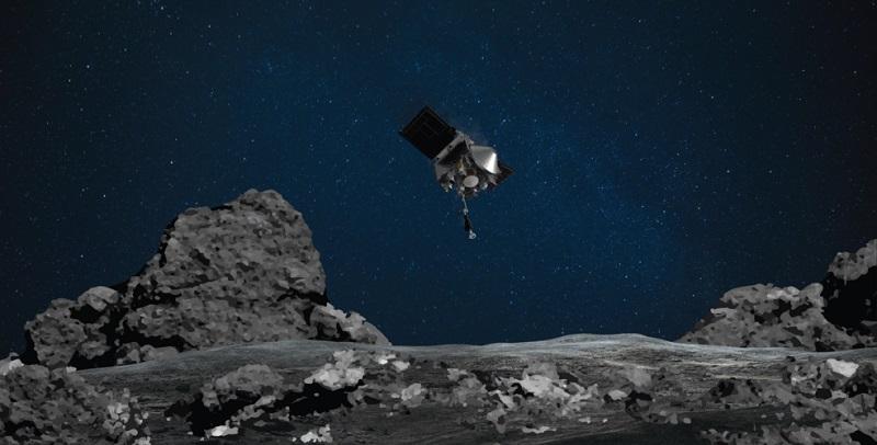 Το σκάφος OSIRIS-REx κατάφερε να αγγίξει τον αστεροειδή Bennu για να συλλέξει δείγμα από την επιφάνειά του