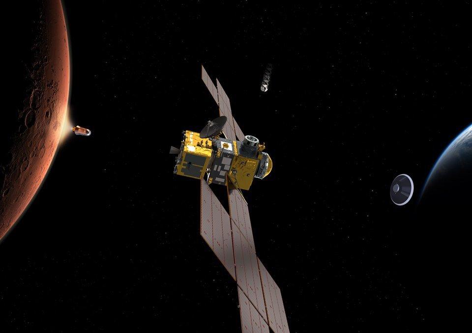 Η κατασκευή του πρώτου διαστημόπλοιου που θα φέρει πίσω στη Γη δείγματα από τον Άρη