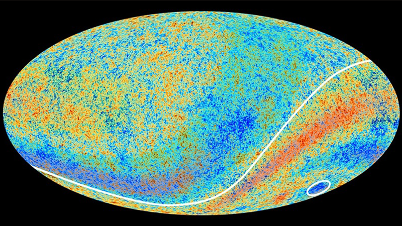 Ενδείξεις νέας φυσικής στο πολωμένο φως από το αρχέγονο σύμπαν