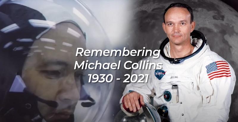 Ο αστροναύτης Μάικλ Κόλινς (1930-2021)