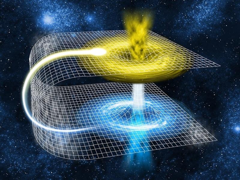 Τι θα συνέβαινε αν μια μαύρη τρύπα έπεφτε μέσα σε μια σκουληκότρυπα;