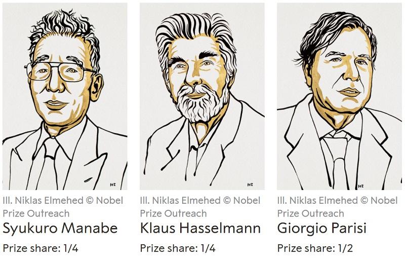 Βραβείο Νόμπελ Φυσικής 2021
