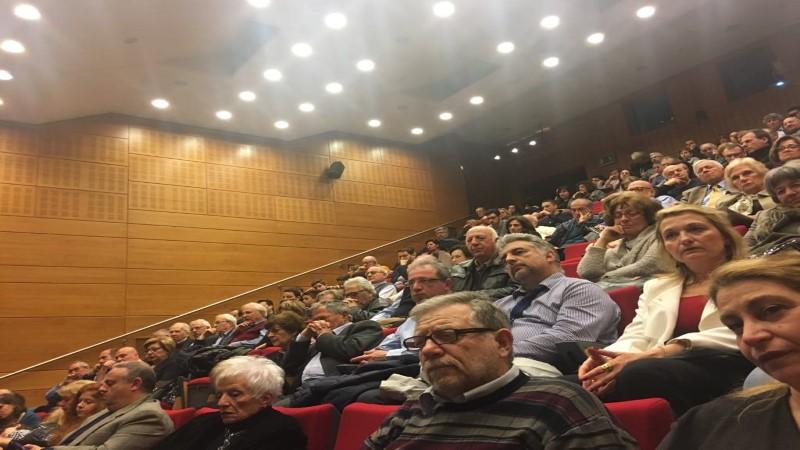 Ομιλία του Καθηγητή Αστρονομίας κ. Νικολάου Κ. Σπύρου